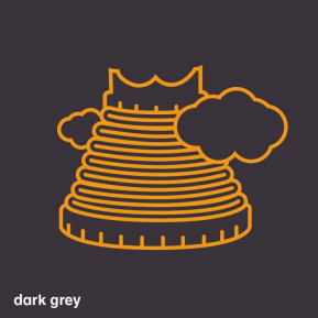 T-shirt Dames - Dark Grey - Maat M
