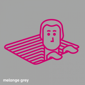 T-shirt Dames - Melange Grey - Maat M
