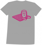 T-shirt Heren - Melange Grey - Maat L